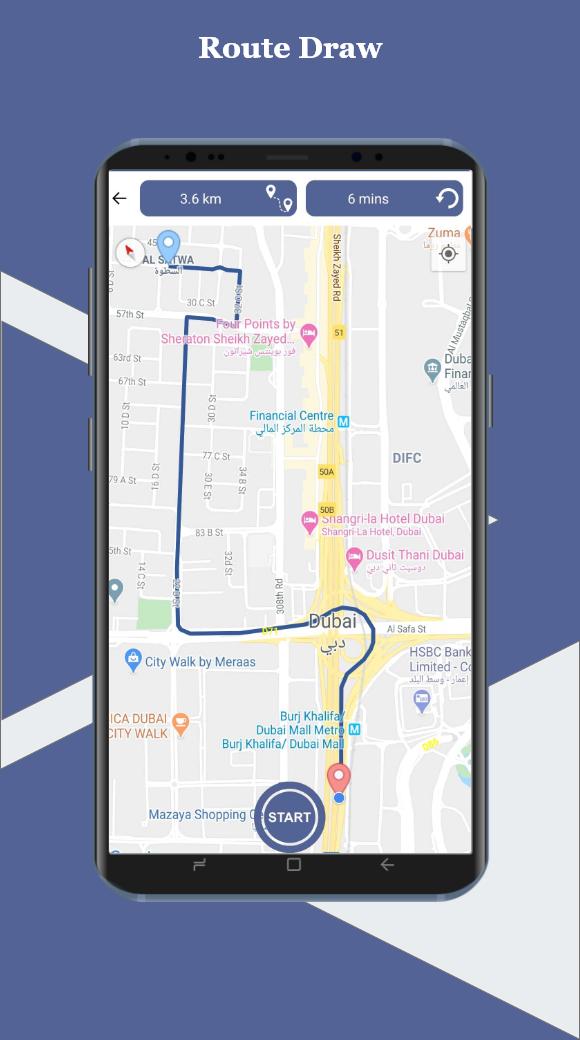 GPS Live Navigation & Route Finder Maps