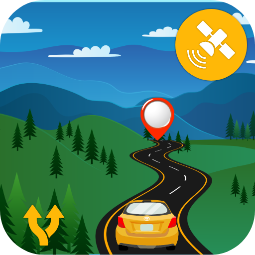 GPS Live Navigation & Route Finder Maps