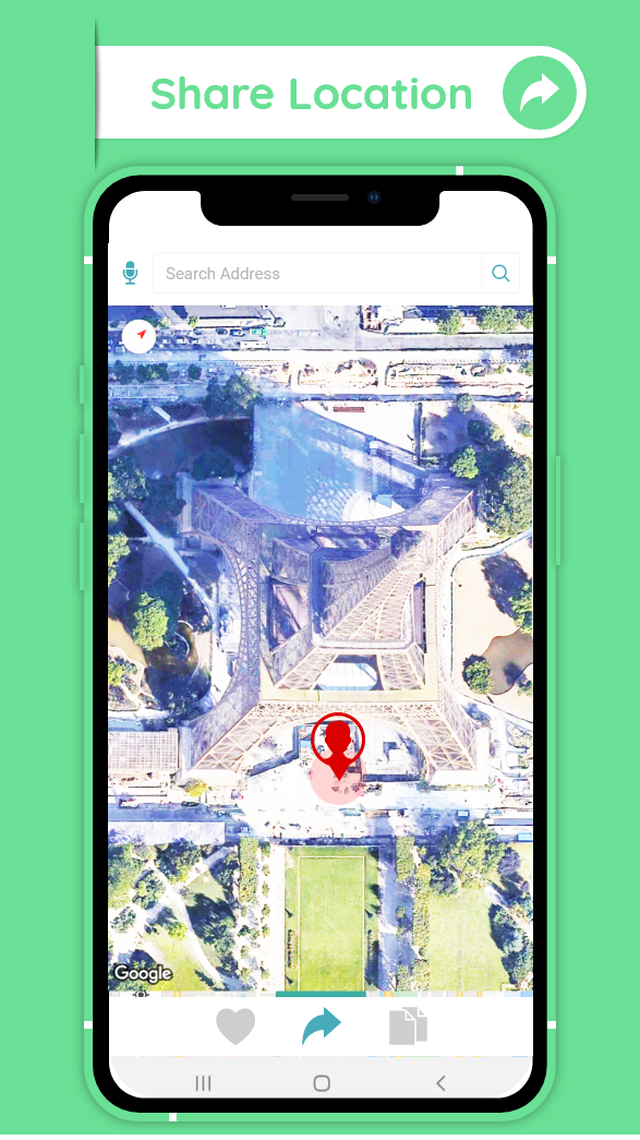 GPS Satellite Maps & Live Navigation Route Finder