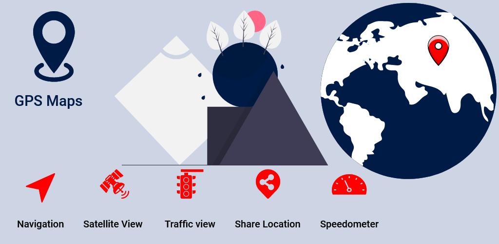 GPS Voice Navigation & Satellite Location Maps