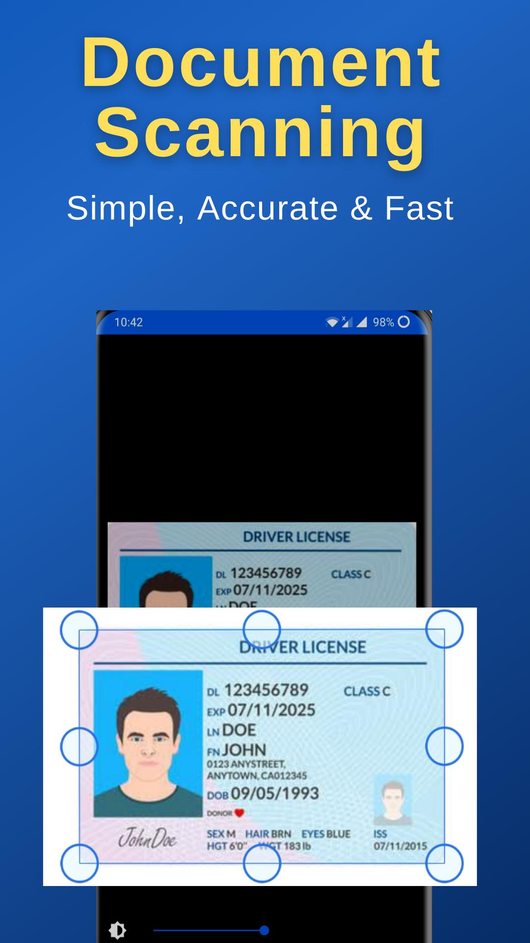 HapScan - Indian Document Scanner, PDF Creator
