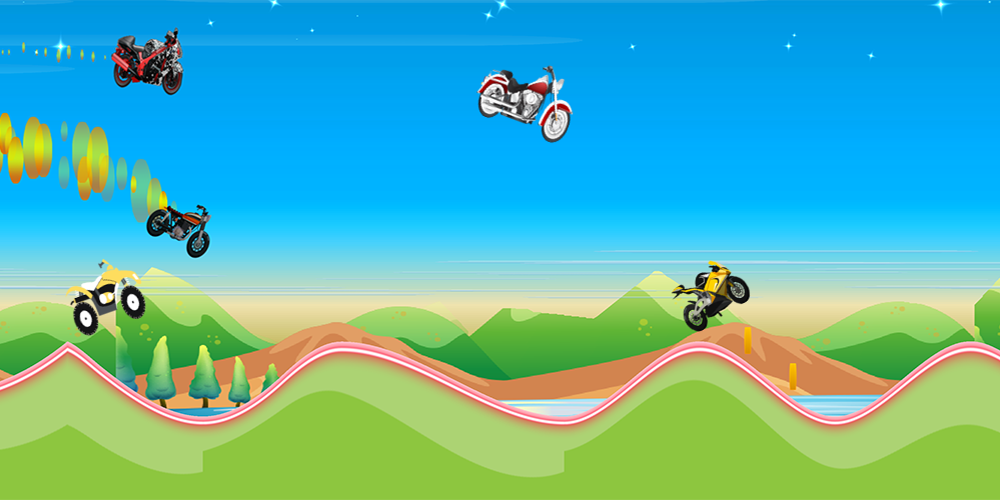 High Jump:Bikes Hill