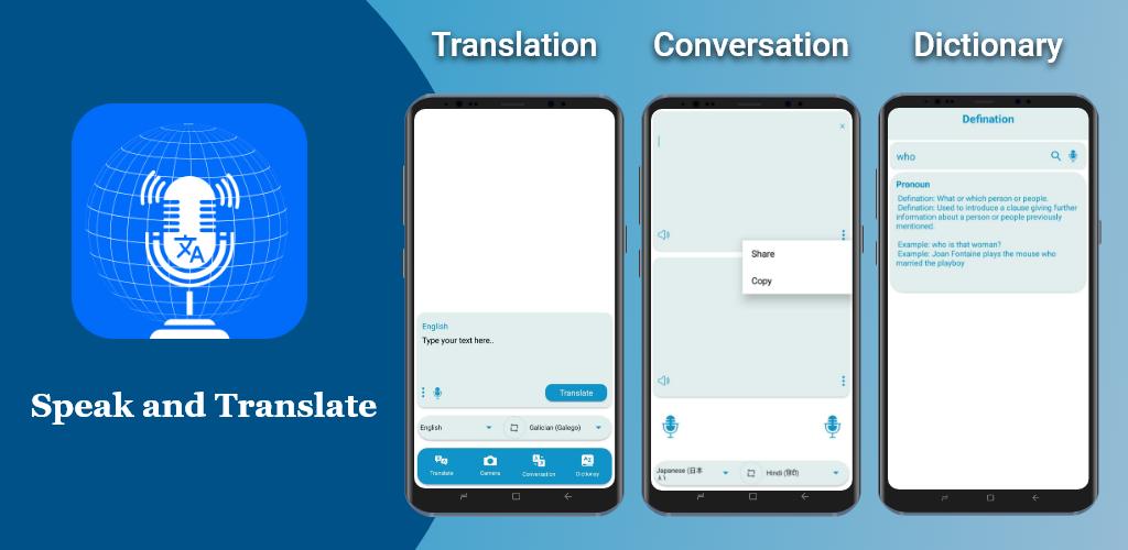Language Translator: Dictionary & Camera Translate