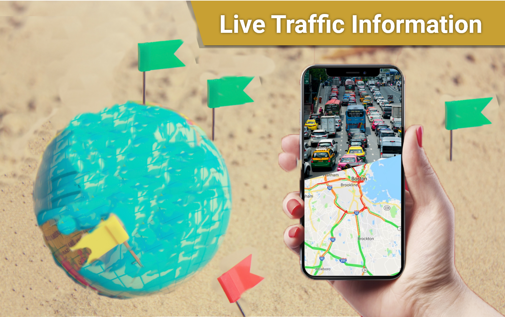 Live GPS Earth Camera Maps, Traffic & Navigation