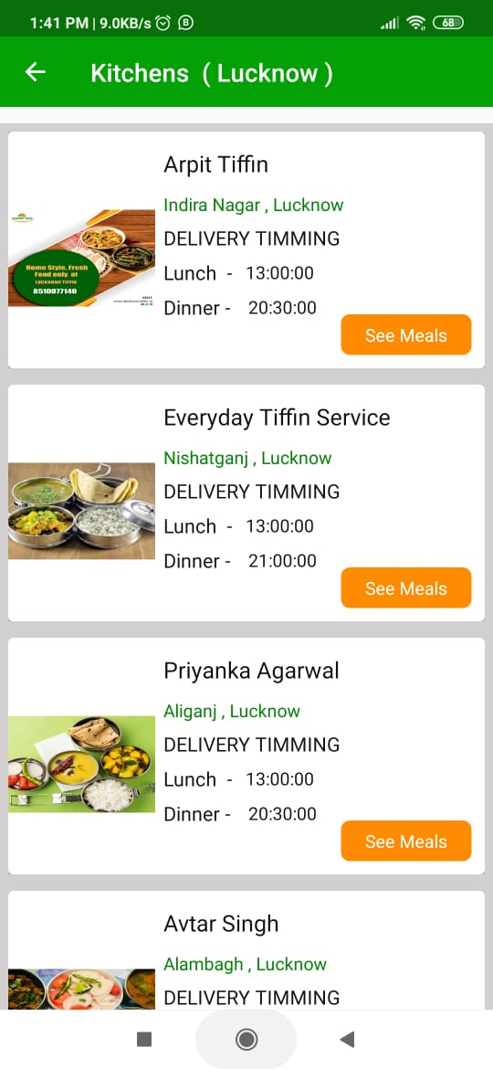 Lucknowi Tiffin - Online Food, Tiffin Delivery