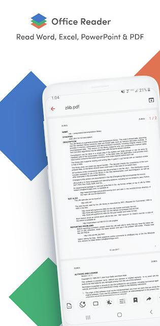 Office Reader - Word, Excel, PowerPoint & PDF