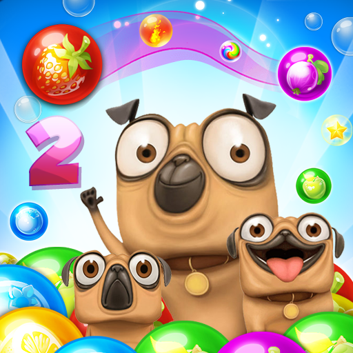 Pug Pop Bubble Shooter 2: Adventure Rescue Bulldog