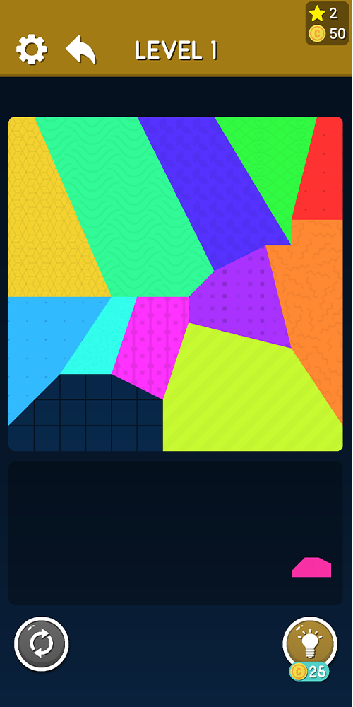 Tangram Master : Tetrix Puzzle