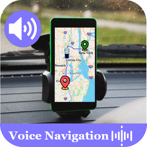 Voice GPS Driving Navigation & Satellite Maps