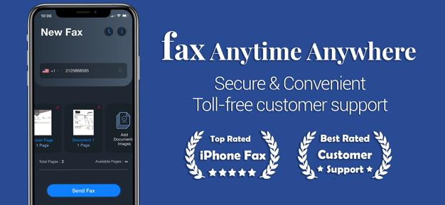 Alpha Fax - Scan & Send Faxes