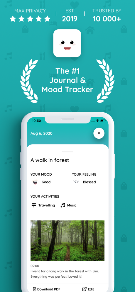 Chiku – Journal & Mood Tracker