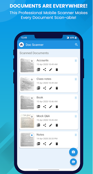 Flash Scan - Indian Document Scanner & PDF Creator
