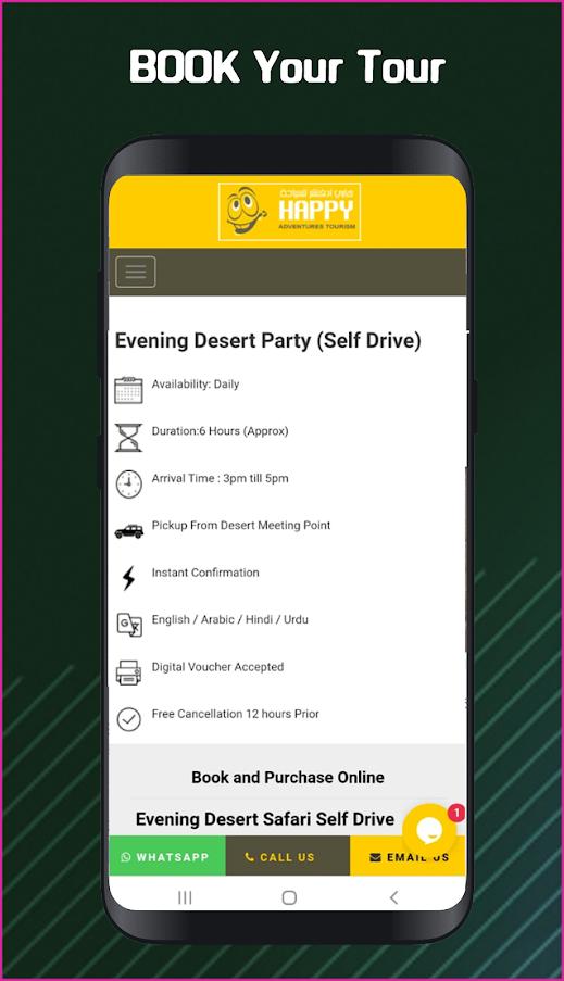 Happy Desert Safari Dubai