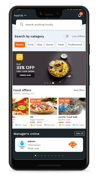 Mapians Live Offer on Food, Shop, Travel, Anything