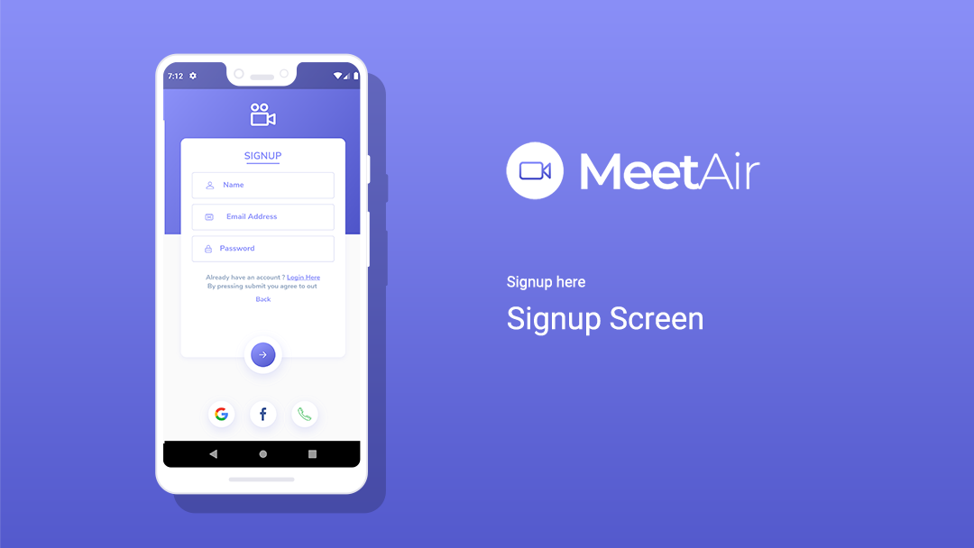 MeetAir - Live Meeting & Online Video Conference