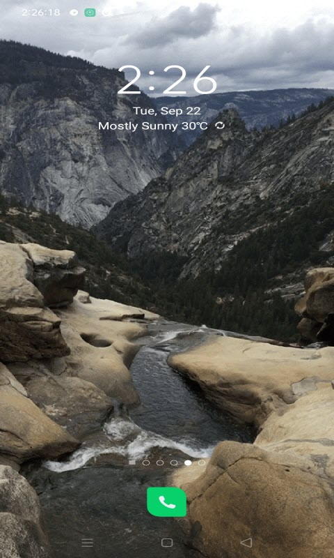 Mountainy Water Live Wallpaper