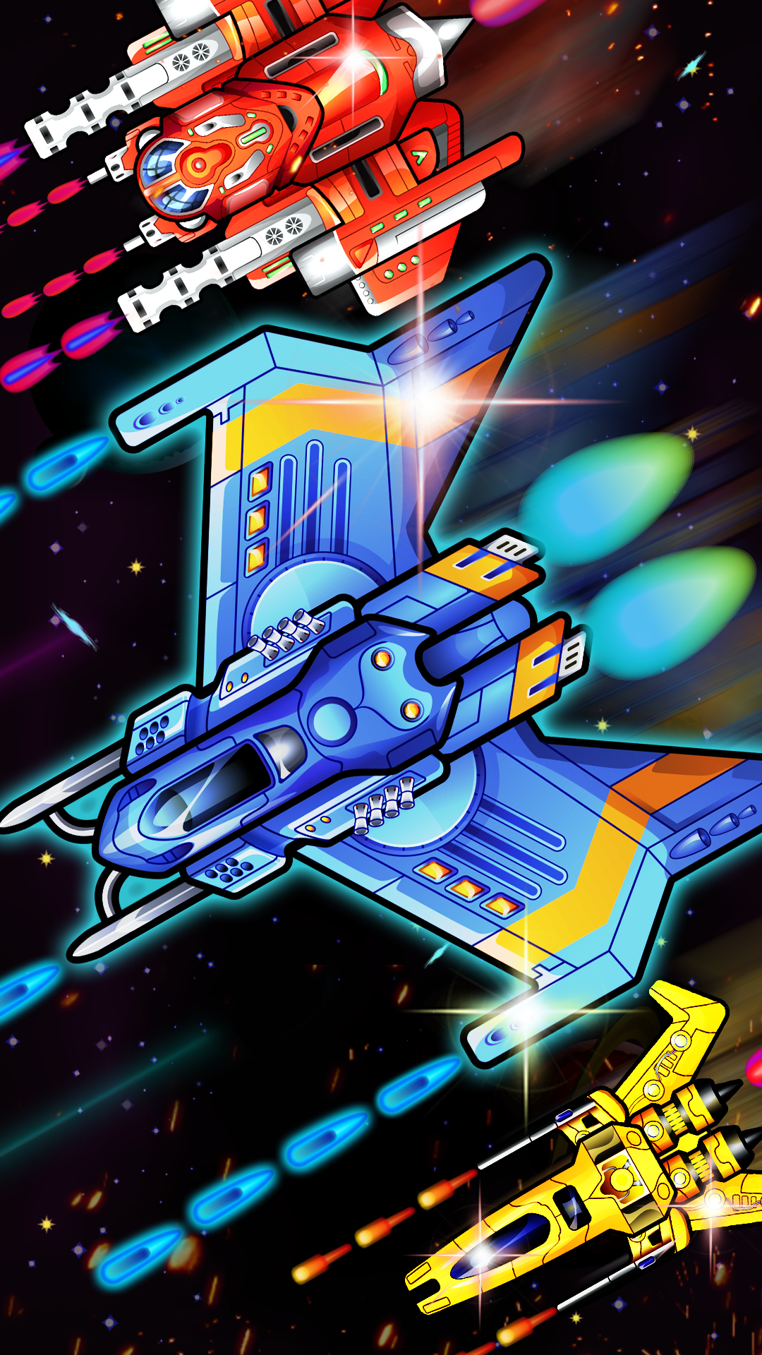 Planet Warfare - Space Shooter Arcade Game