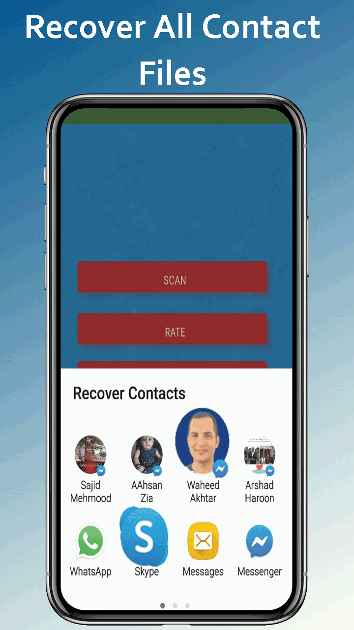 Recover deleted contacts numbers