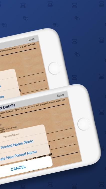 Siggy - PreSign Mail App
