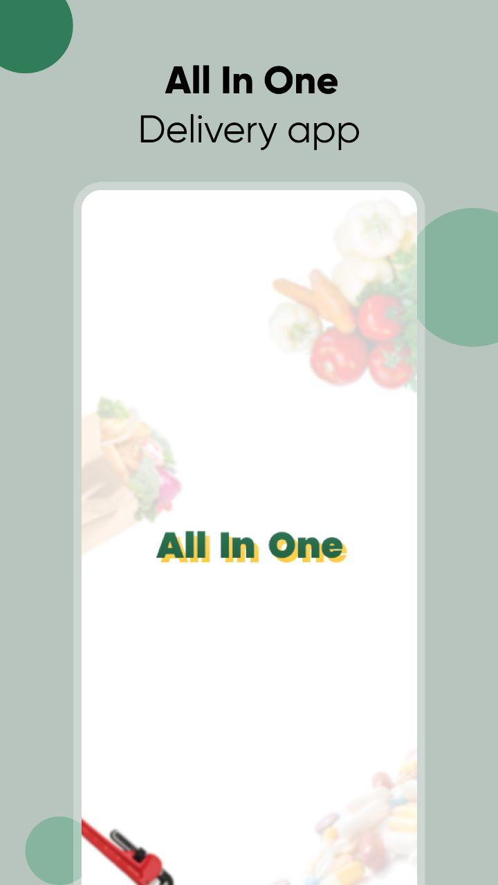 All In One - Local Service & Delivery App