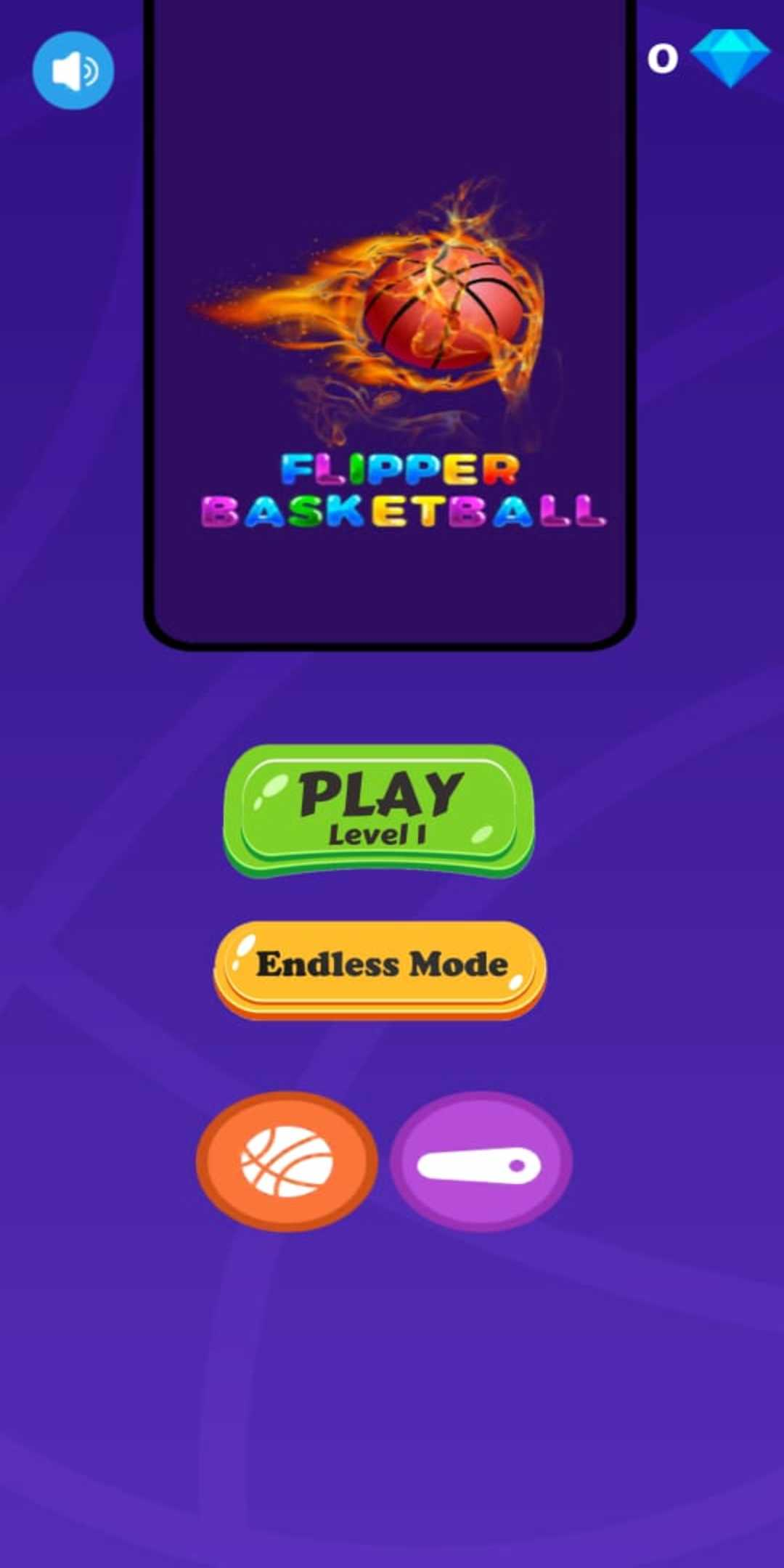 Flipper Basketball