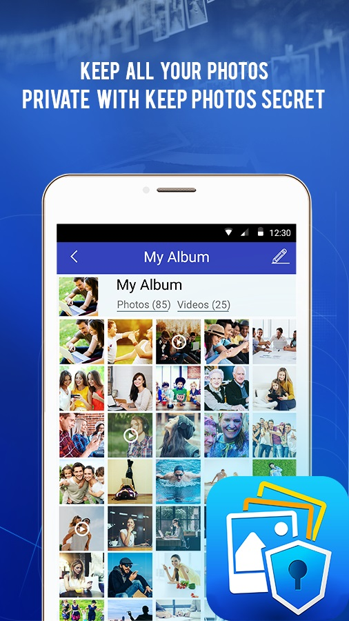 Keep Photos Secret : Hide Gallery Pictures Videos