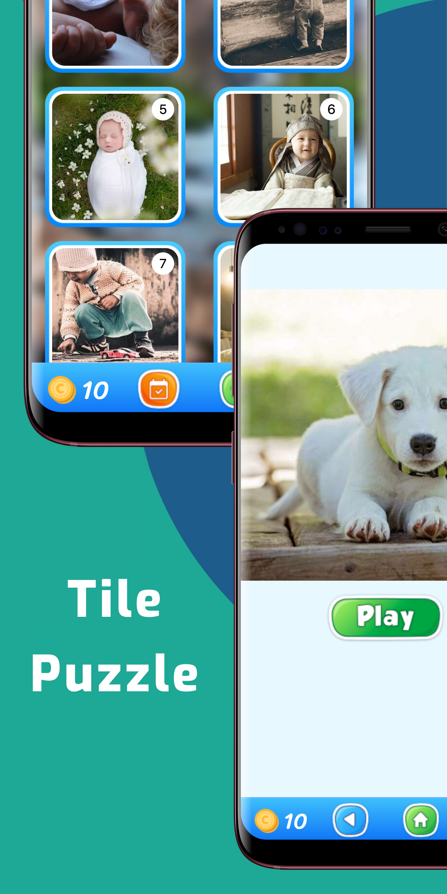 Tile Puzzles Jigsaw – Sliding Picture Puzzle Game