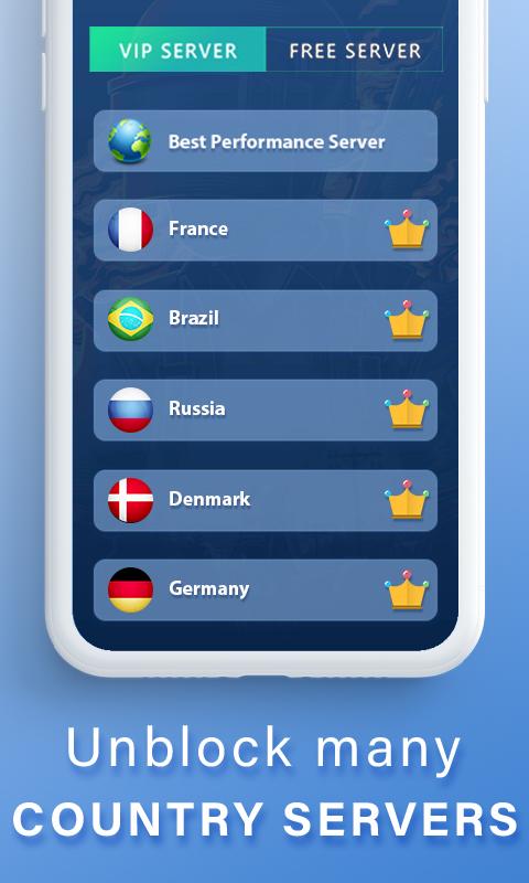 free vpn proxy master: vpn for pubg mobile game