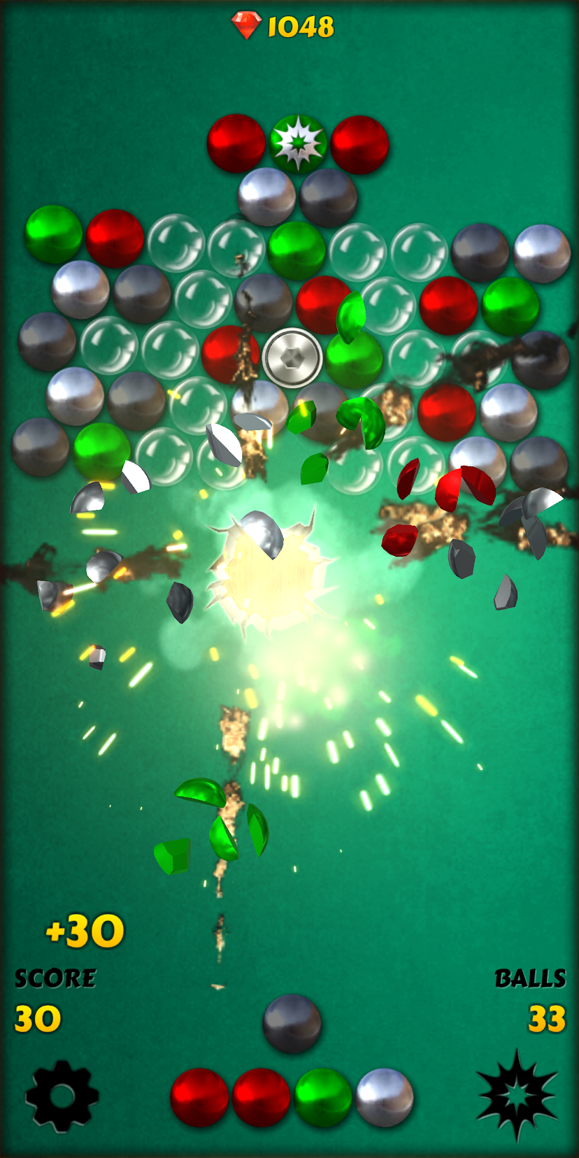 Magnet Balls PRO Free: Match-Three Physics Puzzle