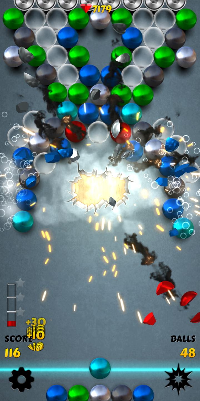 Magnet Balls PRO Free: Match-Three Physics Puzzle