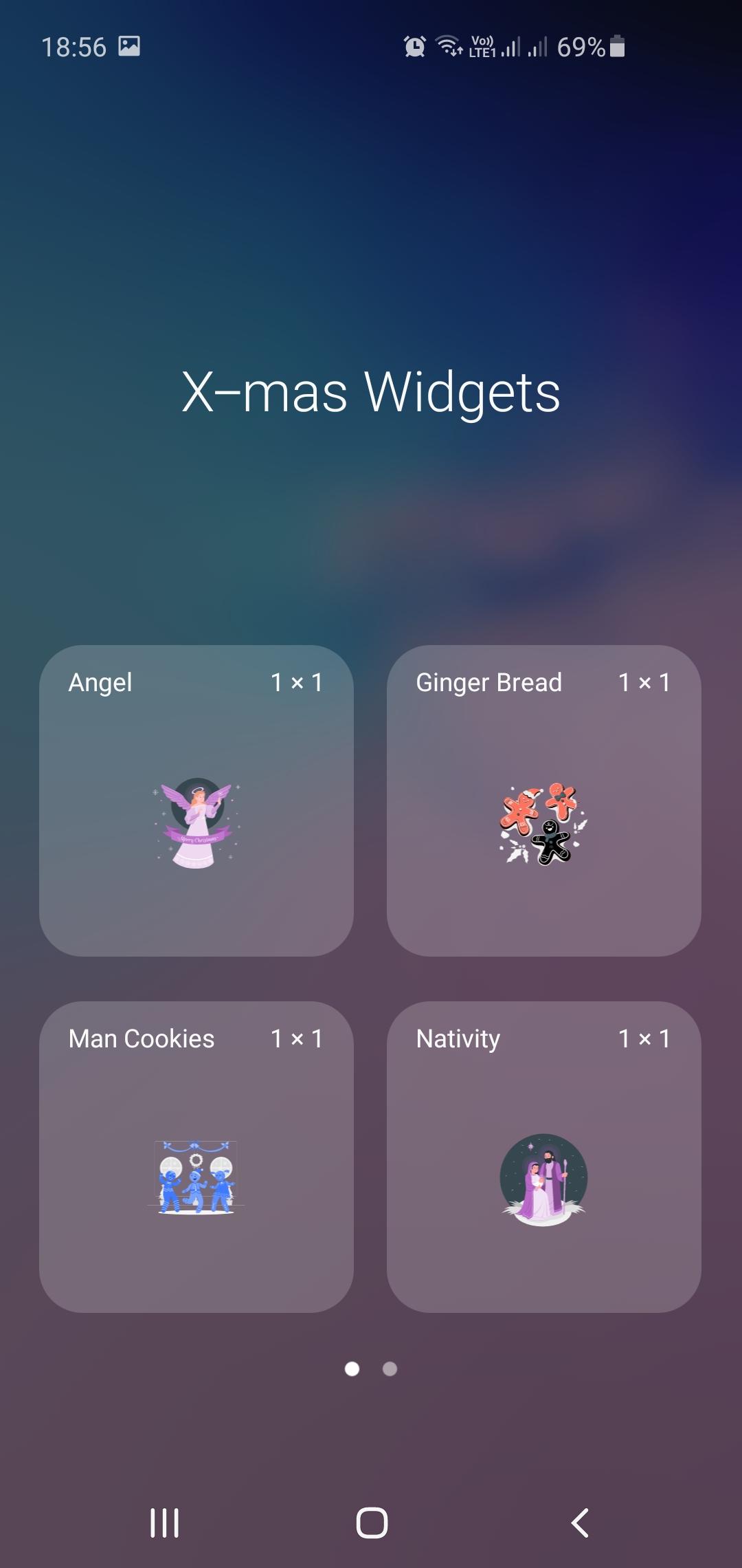 Pepper Xmas Widgets - Animated Widgets