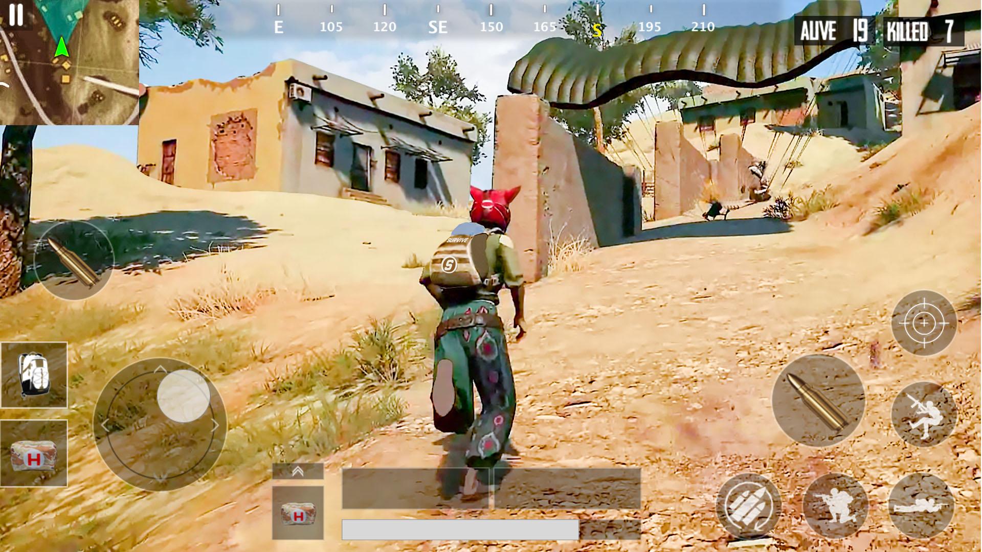Squad Survival Free Fire Battleground Survival War