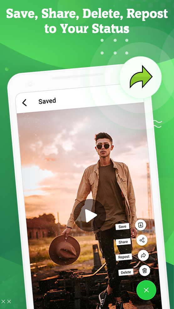 Status Saver: Download HD video & Image from story