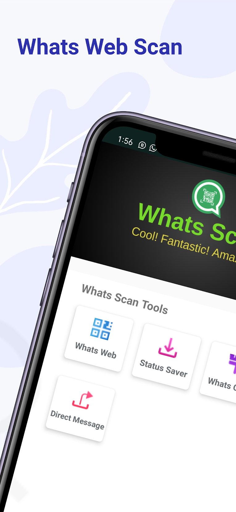 Whats Web Scan , Status Saver and Cleaner for WA