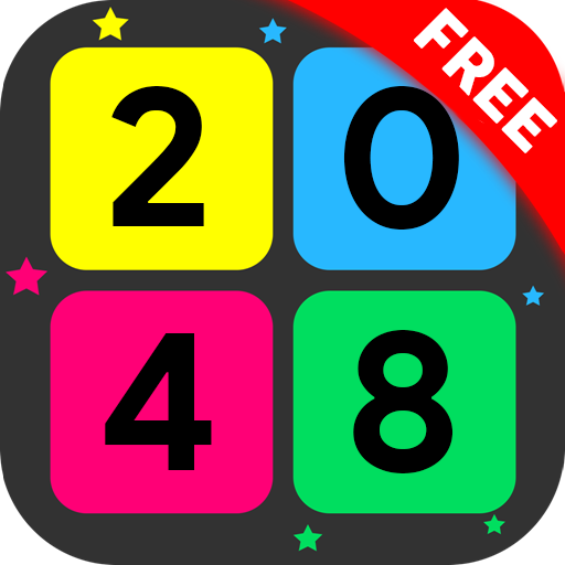 2048 Super Offline Infinite Tile Math Puzzle Game