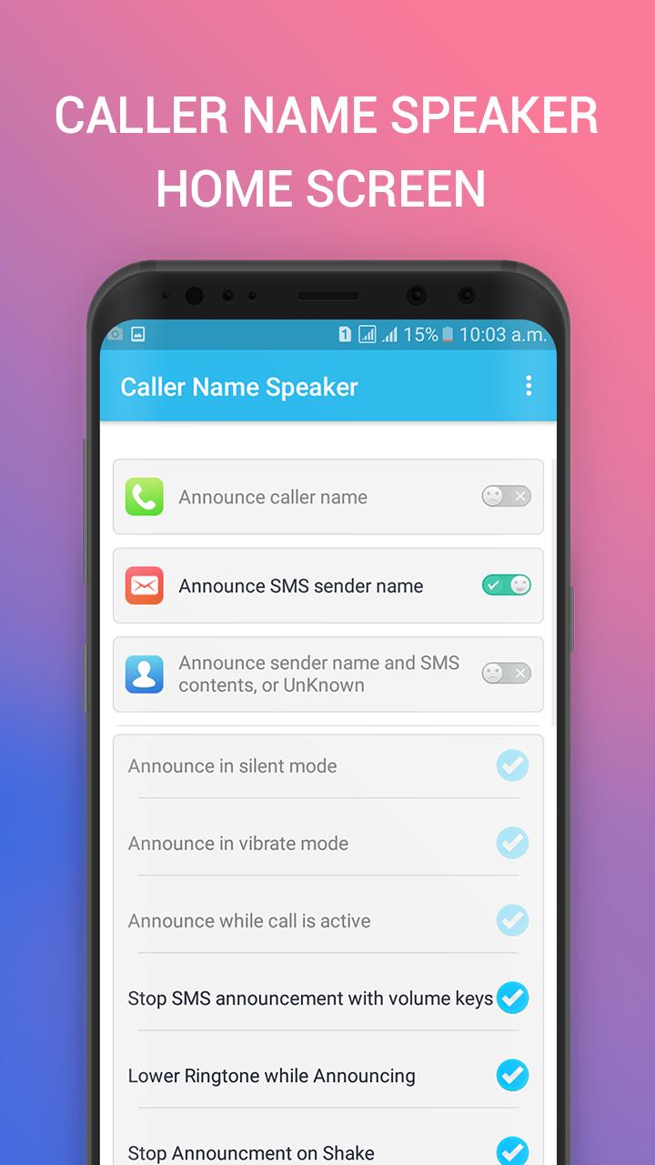 Caller Name Announcer & Announce Caller Id