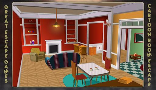 Escape games - Cartoon Room Escape