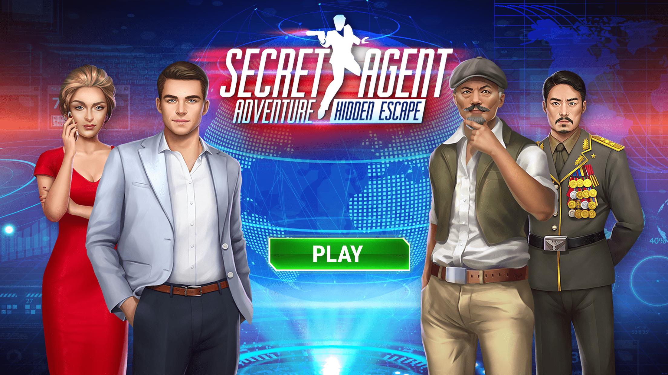 Hidden Escape: Secret Agent Adventure Game