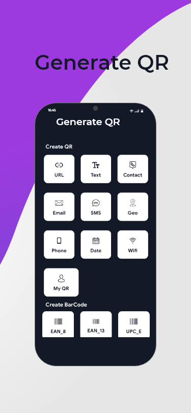 QR Code Maker - Barcode generator