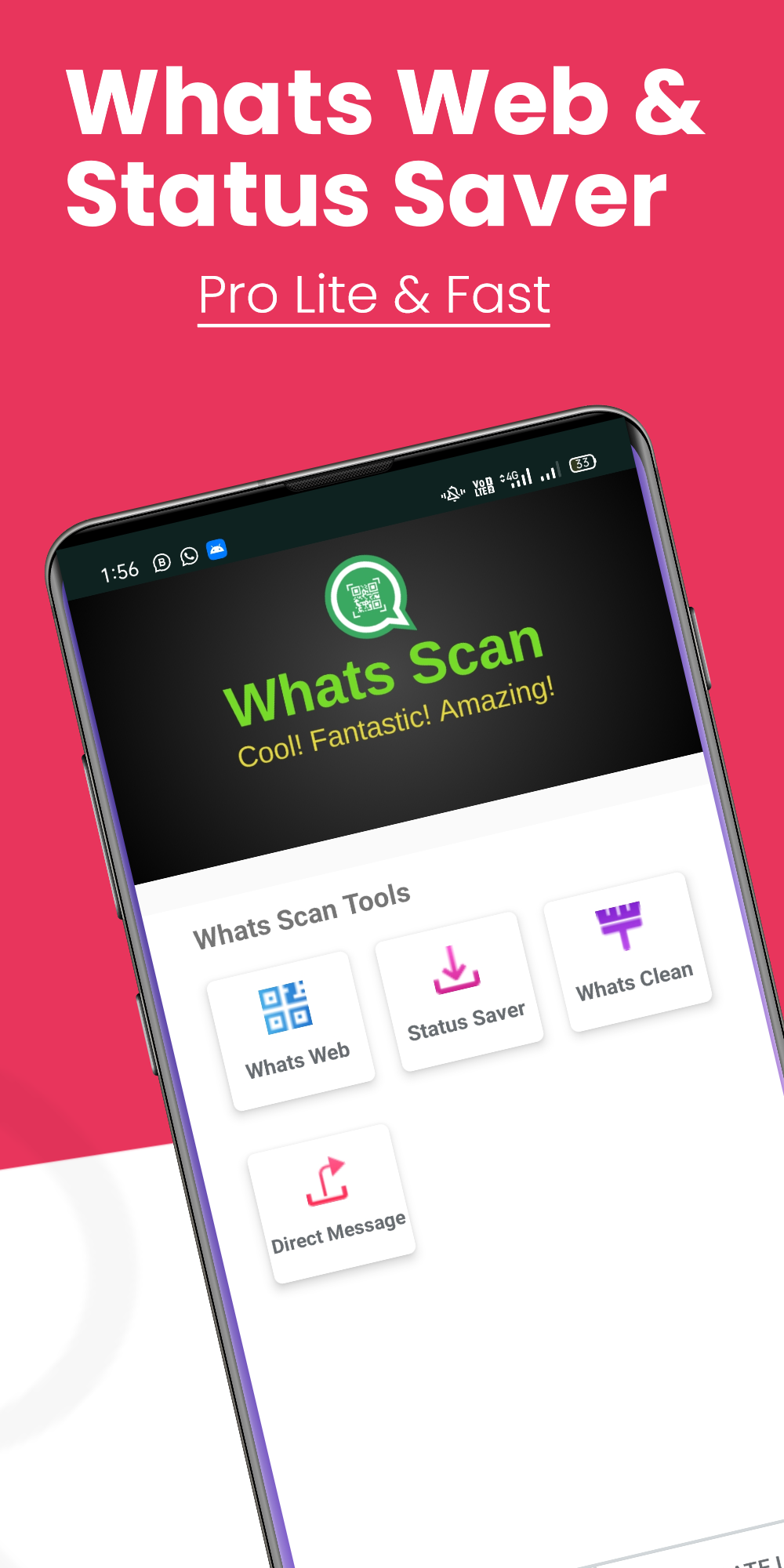Whats Web - Cloneapp , Status Saver and Cleaner