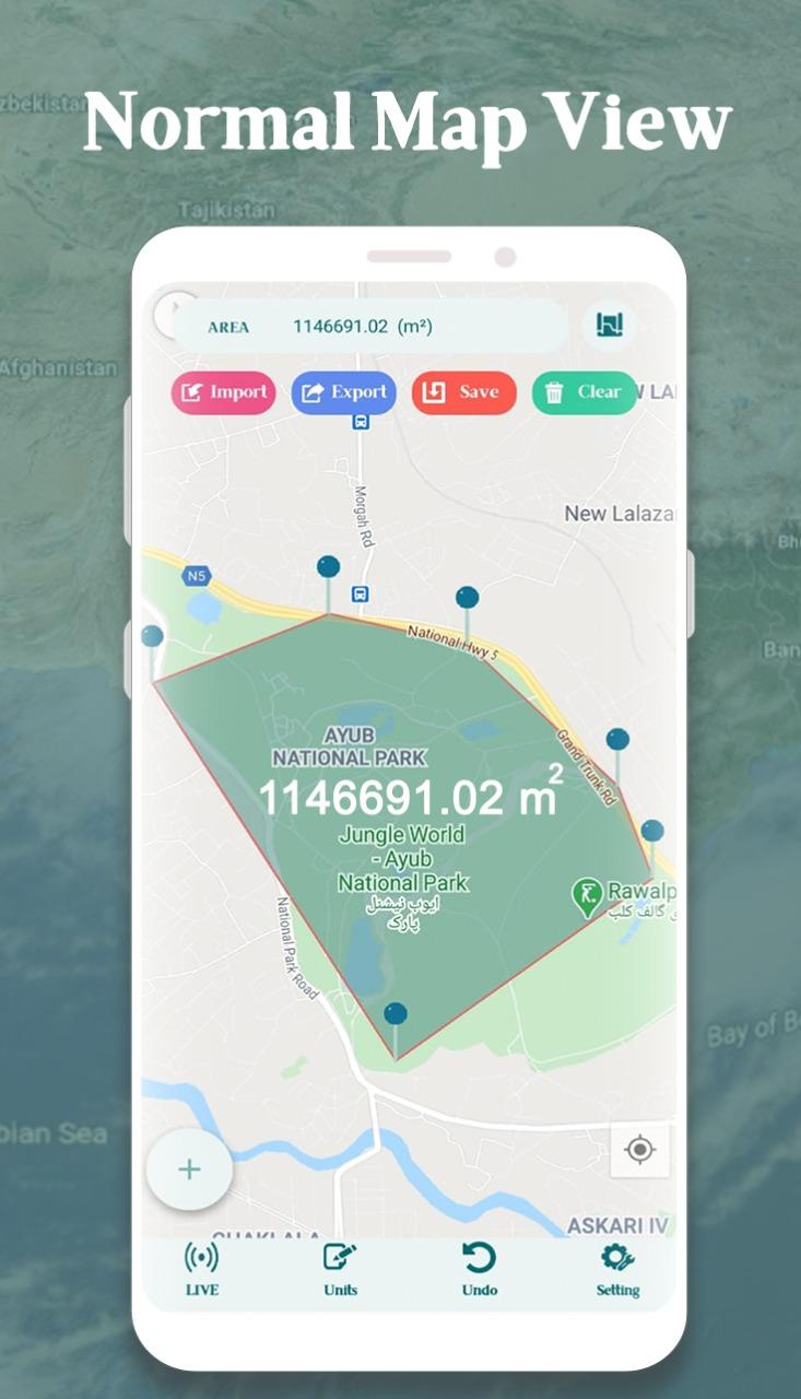 Area Calculator For Land Gps Measurement