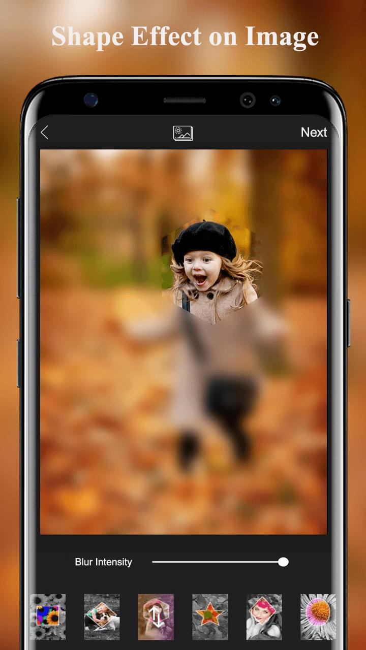 Blur Photo Editor