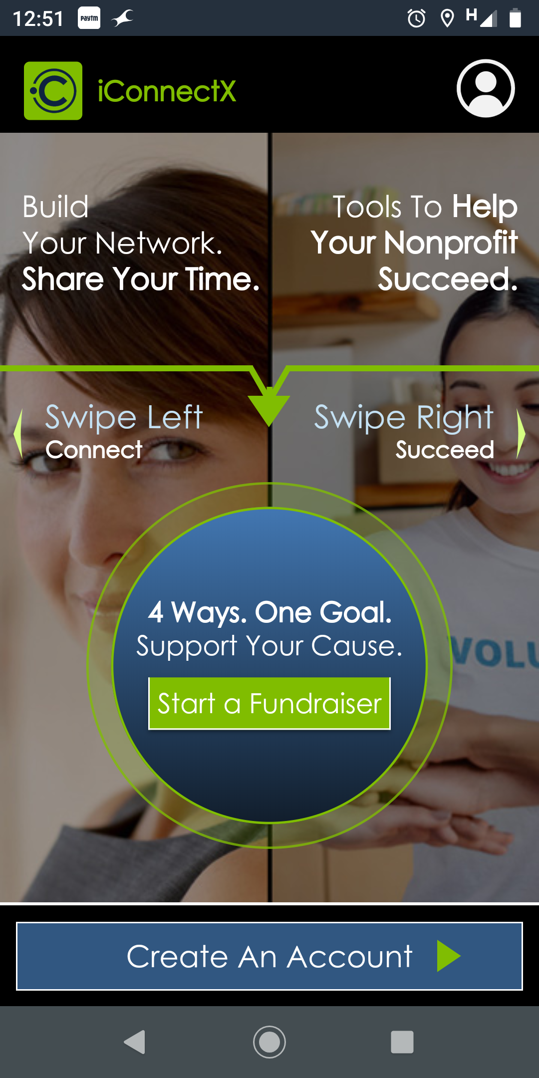 iConnectX: Fundraising app for charity