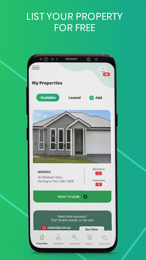 Instarent - Property Management App