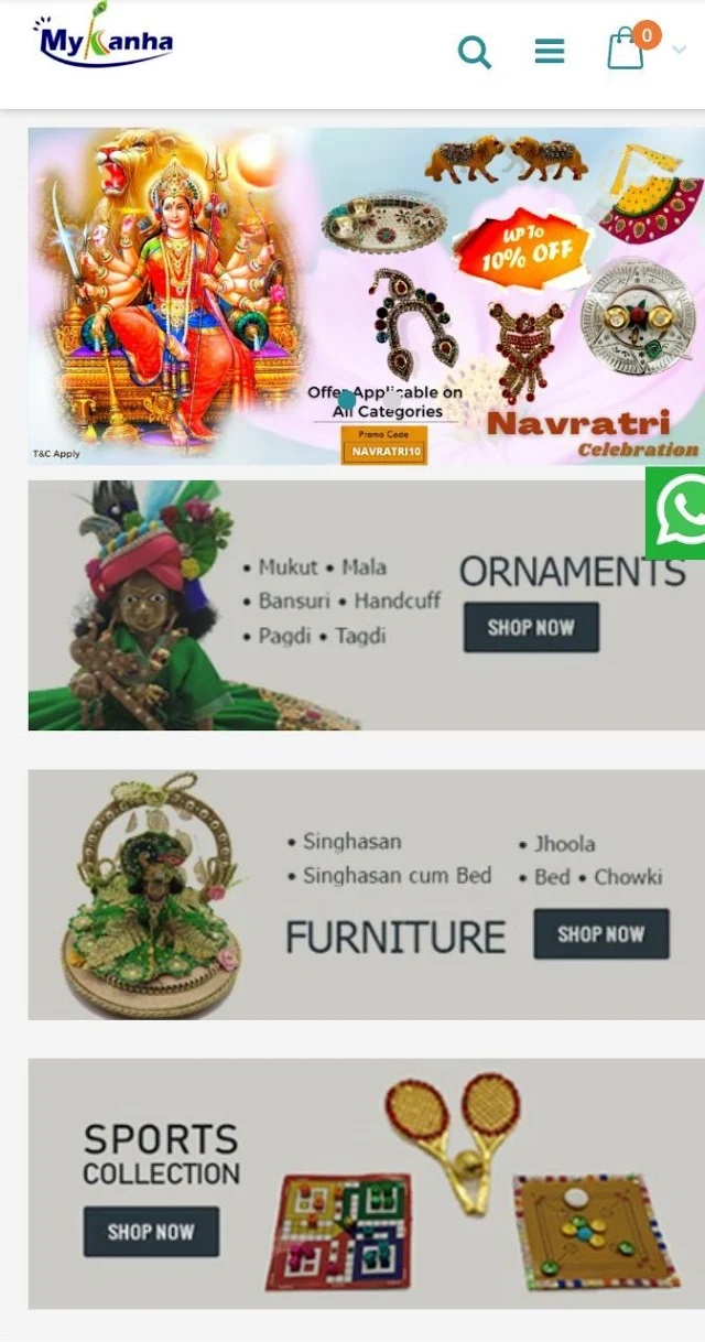 Laddu Gopal Dress at Mykanha.com