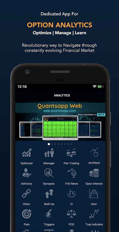 Quanstapp - Option Strategy Optimizer