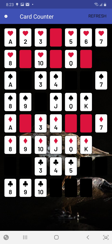Blackjack Card Counter