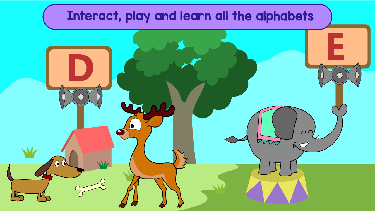 Kindergarten Kids Learning