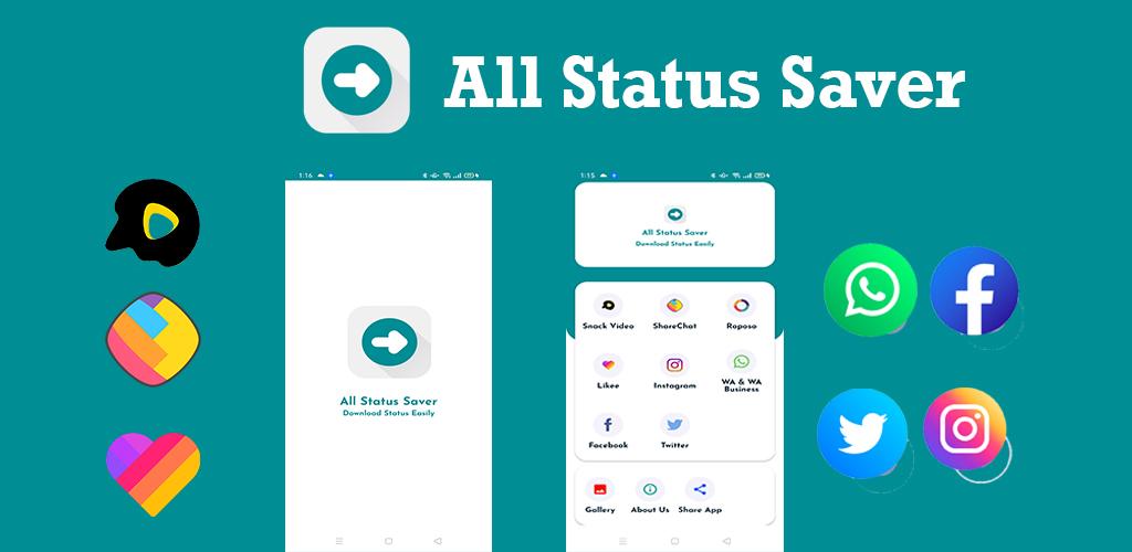 All status saver - whatsapp instagram status saver