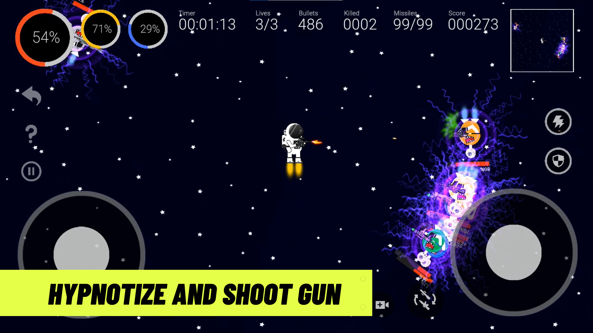 Fatal Space - 2D Space Shooter Game